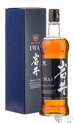 "Hombo Shuzo "" Iwai  "" japanese whisky by Mars Shinsu 40% vol.  0.70 l"