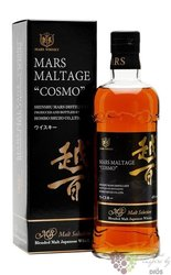 "Hombo Shuzo "" Mars maltage Cosmo "" japanese blended malt whisky by Mars Shinsu 43% vol.  0.70 l"