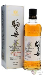 "Hombo Shuzo "" Komagatake "" Japanese whisky by Mars Shinsu 52% vol.  0.70 l"