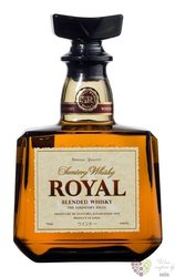 "Royal "" the founders ideal "" blended malt Japanese whisky Suntory 40% vol.  0.70 l"