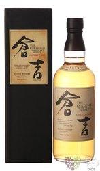 "Kurayoshi "" Sherry cask "" pure malt Japanese whisky by Matsui Shuzou 43% vol.  0.70 l"