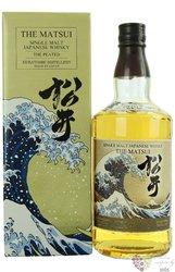 "Kurayoshi "" Peated "" single malt Japanese whisky by Matsui 48% vol. 0.70 l"
