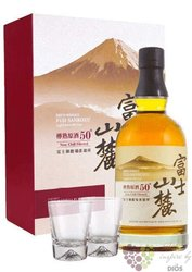 Fuji Sanroku 2gass set unique Japanese whisky by Kirin 50% vol.  0.70 l