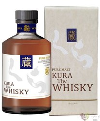 Kura blended malt Japanese whisky by Helios 40% vol. 0.70 l