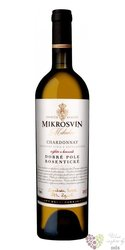 "Chardonnay "" Traditional line "" 2015 výběr z hroznů Mikrosvín  0.75 l"