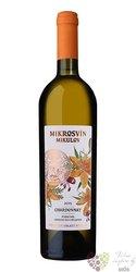"""Chardonnay """" Flower line """" 2014 pozdní sběr Mikrosvín  0.75 l"""