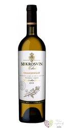 """Chardonnay """" Flower line """" 2015 pozdní sběr Mikrosvín  0.75 l"""