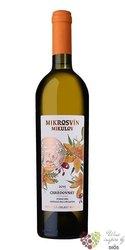 """Chardonnay """" Flower line """" 2020 pozdní sběr Mikrosvín  0.75 l"""