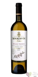 "Muller Thurgau "" Flower line "" 2015 pozdní sběr Mikrosvín  0.75 l"