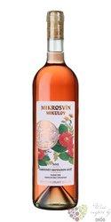 """Cabernet Moravia rosé """" Flower line """" 2015 pozdní sběr Mikrosvín  0.75 l"""