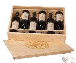 Dřevěná dárková kazeta na šest lahví vinařství Mikrosvín Mikulov