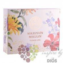 Dárkový kartón Flowe line na tři láhve vinařství Mikrosvín Mikulov