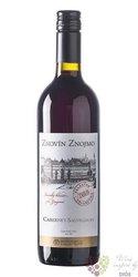 """Cabernet Sauvignon """" Selected """" jakostní odrůdové víno vinařství Znovín  0.75 l"""
