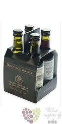 Degustační kolekce přívlastkových vín 4x 0.18l  z vinařství Znovín Znojmo