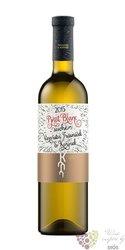 Pinot blanc 2015 pozdní sběr Trávníček & Kořínek  0.75 l