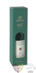 Papírový nosič na jednu láhev vína  0,75l zelený  z vinařství Znovín Znojmo