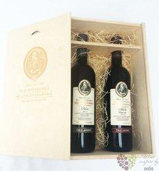 Šlechtitelka dřevěná krabička na dvě lahve vína 0.75 l