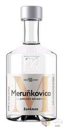 Meruňkovica Moravian fruits brandy distillery Žufánek 45% vol.   0.10 l