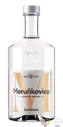 Meruňkovica Moravian apricots brandy Žufánek 45% vol.  0.50 l