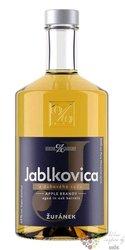 """Jablkovica """" Z dubového sudu """" Moravian fruits brandy Žufánek distillery 45% vol. 0.50 l"""
