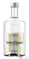 "Rynglovice "" Reine Claude "" Moravian fruits brandy Žufánek 45% vol.  0.50 l"