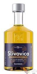 "Slivovica "" Z dubového sudu "" Moravian aged plum brandy Žufánek 45% vol. 0.10 l"