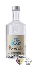 Borovička Moravian brandy distillery Žufánek 45% vol.   0.50 l