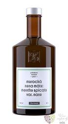 "Geist "" Marocká máta "" Moravian spirit distillery Žufánek 42% vol.  0.50 l"