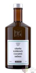 """Geist """" Okurka salátová """" moravian spirit distillery Žufánek 42% vol.  0.50 l"""