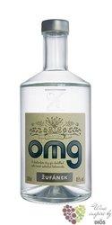 "OMG "" Oh my ... gin "" Moravian brandy distillery Žufánek 45% vol.   0.10 l"