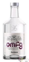 "OMFG  2021 "" Oh my ... gin "" Moravian fruits brandy distillery Žufánek 45% vol.  0.50l"
