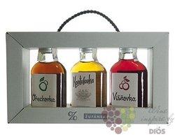 Collection Ořechovka & Kontušovka & Višňovka Moravian fruits liqueur by distillery Žufánek 3